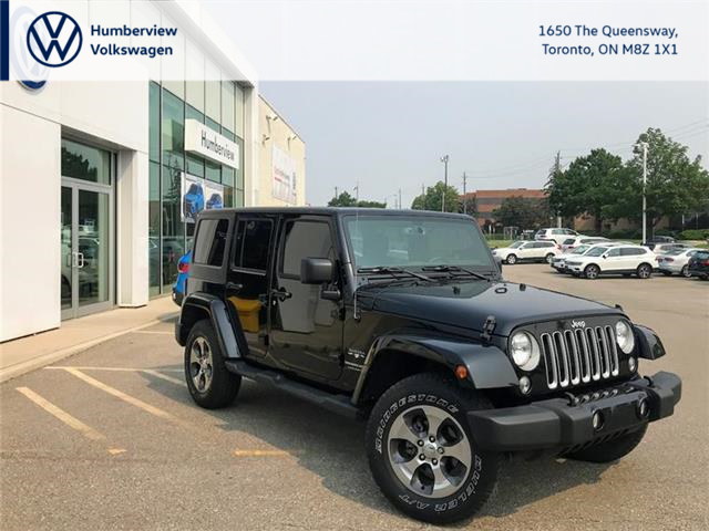 2018 Jeep Wrangler JK Unlimited Sahara (Stk: 98732A) in Toronto - Image 1 of 5