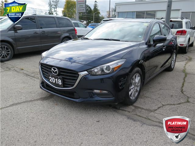 2018 Mazda Mazda3 Sport GS (Stk: 96016) in St. Thomas - Image 1 of 21