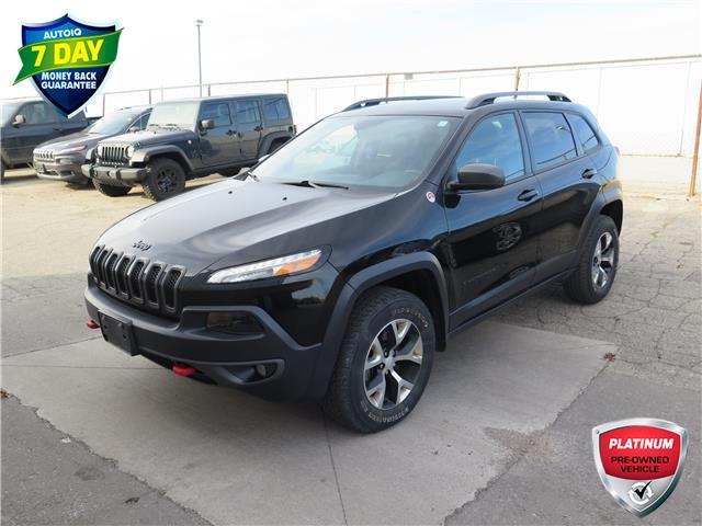 2018 Jeep Cherokee Trailhawk (Stk: 96172) in St. Thomas - Image 1 of 19