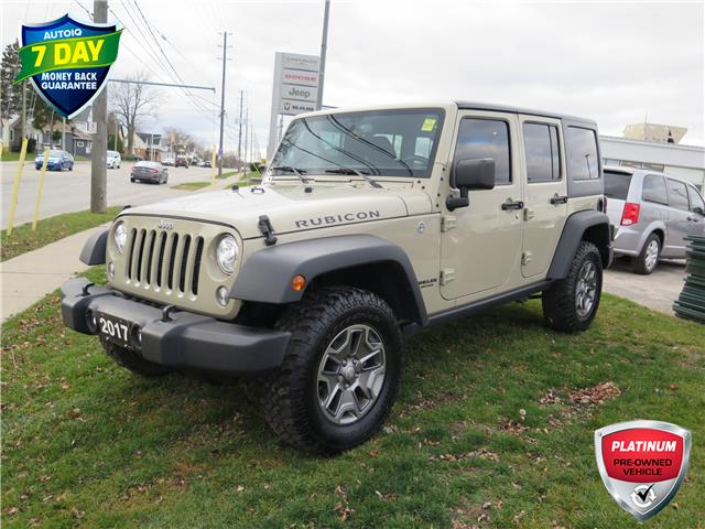 2017 Jeep Wrangler Unlimited Rubicon (Stk: 87075) in St. Thomas - Image 1 of 14