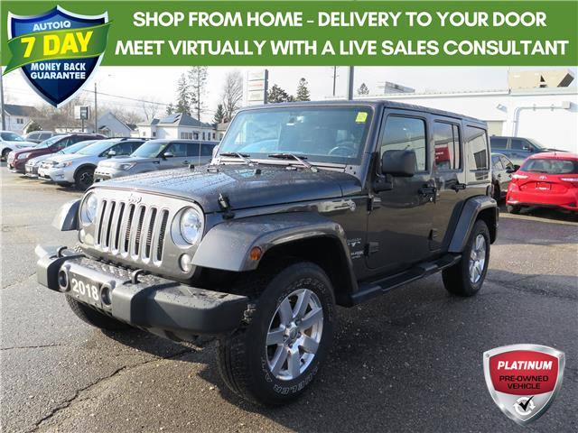 2018 Jeep Wrangler JK Unlimited Sahara (Stk: 88556) in St. Thomas - Image 1 of 21