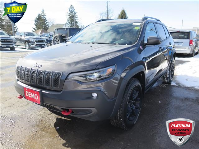 2020 Jeep Cherokee Trailhawk (Stk: 93883D) in St. Thomas - Image 1 of 23