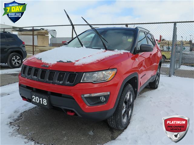 2018 Jeep Compass Trailhawk (Stk: 86930) in St. Thomas - Image 1 of 22
