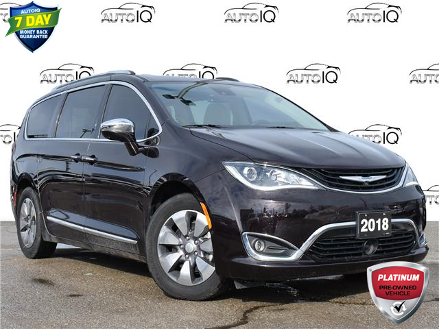 2018 Chrysler Pacifica Hybrid Limited Black