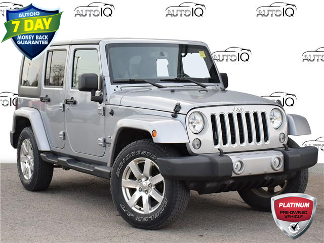 2016 Jeep Wrangler Unlimited Sahara (Stk: 96508) in St. Thomas - Image 1 of 27
