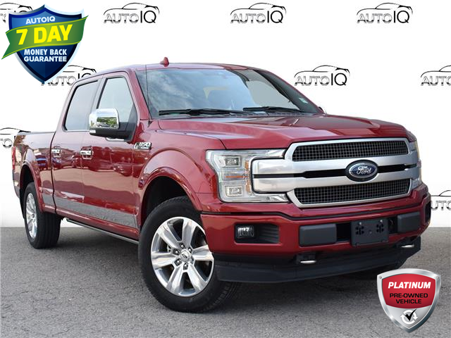 2018 Ford F-150 Platinum (Stk: 97430) in St. Thomas - Image 1 of 29