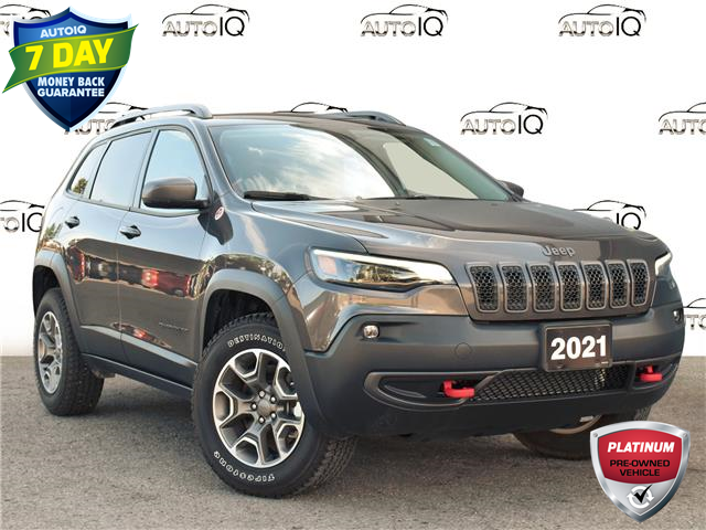 2021 Jeep Cherokee Trailhawk (Stk: 95864) in St. Thomas - Image 1 of 27
