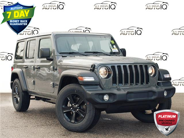 2021 Jeep Wrangler Unlimited Sport (Stk: 97851D) in St. Thomas - Image 1 of 26