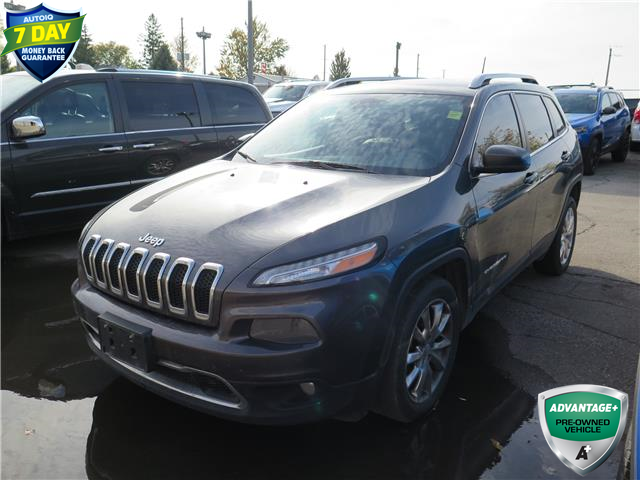 2016 Jeep Cherokee Limited (Stk: 95915X) in St. Thomas - Image 1 of 21
