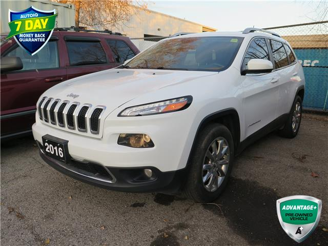 2016 Jeep Cherokee Limited (Stk: 96155) in St. Thomas - Image 1 of 18