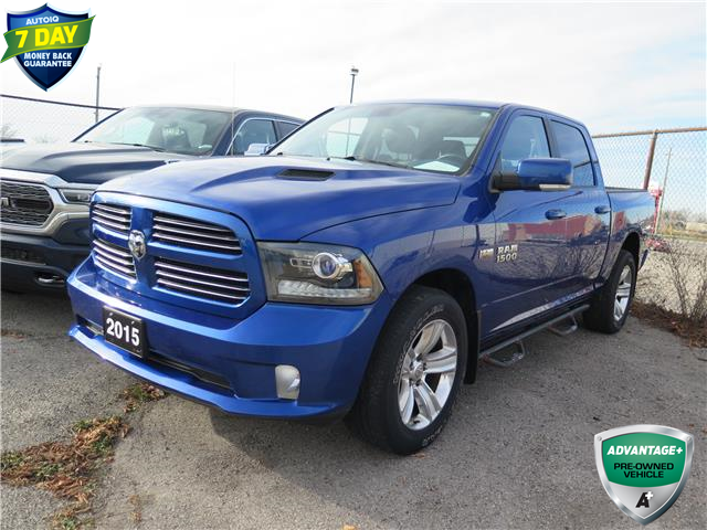 2015 RAM 1500 Sport (Stk: 59914) in St. Thomas - Image 1 of 16