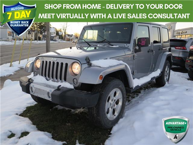 2014 Jeep Wrangler Unlimited Sahara (Stk: 96295) in St. Thomas - Image 1 of 19