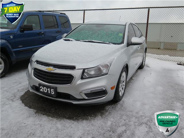 2015 Chevrolet Cruze 1LT (Stk: 96377X) in St. Thomas - Image 1 of 18