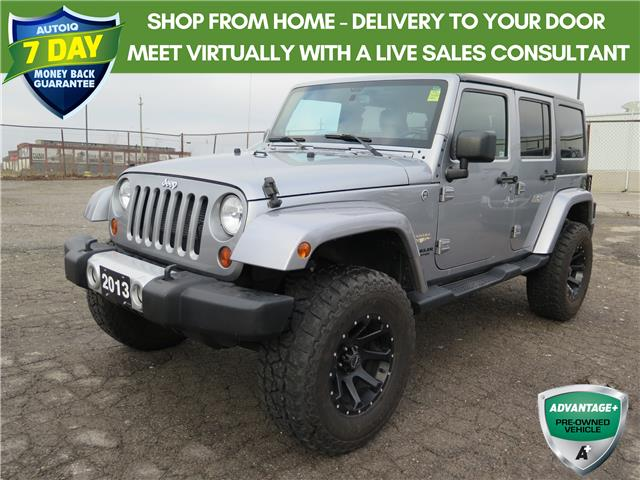 2013 Jeep Wrangler Unlimited Sahara (Stk: 96484) in St. Thomas - Image 1 of 21