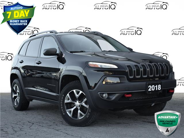 2018 Jeep Cherokee Trailhawk (Stk: 87120X) in St. Thomas - Image 1 of 28