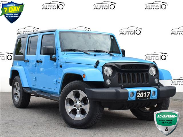 2017 Jeep Wrangler Unlimited Sahara (Stk: 85537) in St. Thomas - Image 1 of 25