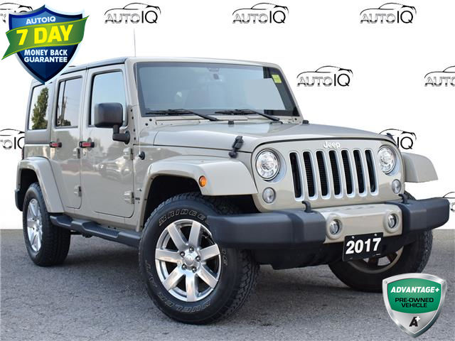 2017 Jeep Wrangler Unlimited Sahara (Stk: 97552) in St. Thomas - Image 1 of 26