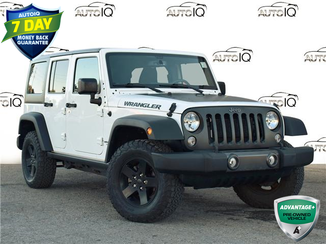 2017 Jeep Wrangler Unlimited Sport (Stk: 85590) in St. Thomas - Image 1 of 25