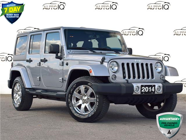 2014 Jeep Wrangler Unlimited Sahara (Stk: 84819) in St. Thomas - Image 1 of 25