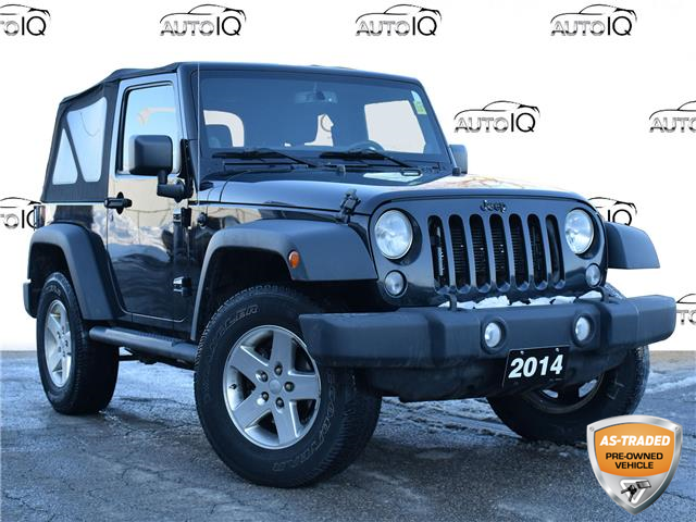 2014 Jeep Wrangler Sport (Stk: 91829Z) in St. Thomas - Image 1 of 23
