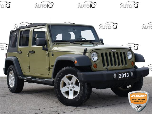 2013 Jeep Wrangler Unlimited Sport (Stk: 96735Z) in St. Thomas - Image 1 of 25