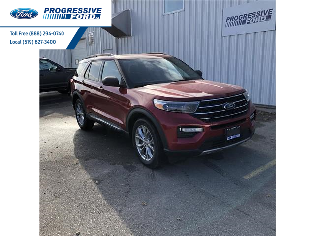 2020 Ford Explorer XLT (Stk: LGA65526) in Wallaceburg - Image 1 of 17