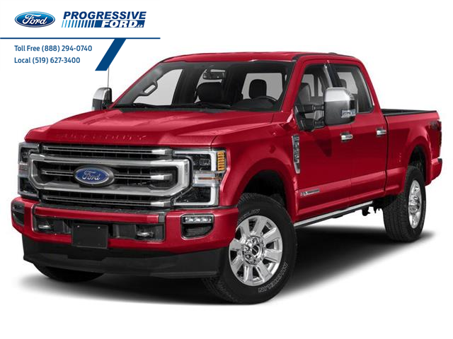 2021 Ford F-250 Platinum (Stk: MEC00992) in Wallaceburg - Image 1 of 9