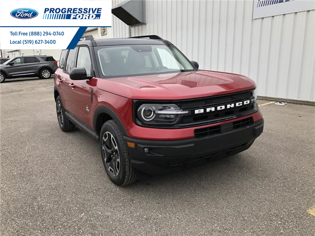 2021 Ford Bronco Sport Outer Banks (Stk: MRA22835) in Wallaceburg - Image 1 of 18