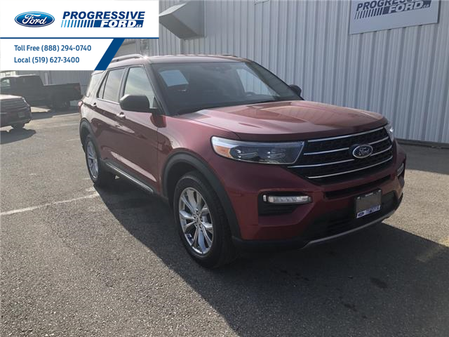 2021 Ford Explorer XLT (Stk: MGA47935) in Wallaceburg - Image 1 of 14