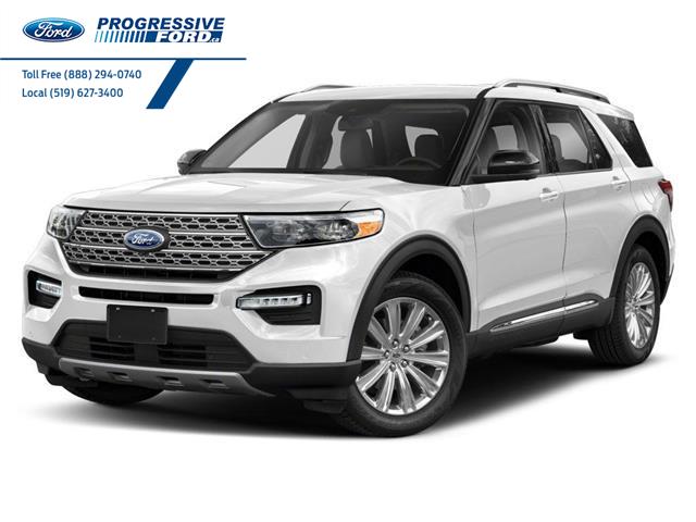 2021 Ford Explorer Platinum (Stk: MGA97765) in Wallaceburg - Image 1 of 9