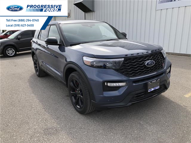 2021 Ford Explorer ST (Stk: MGA97764) in Wallaceburg - Image 1 of 18