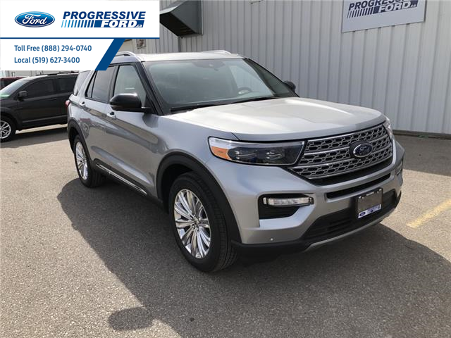 2021 Ford Explorer Limited (Stk: MNA09185) in Wallaceburg - Image 1 of 19