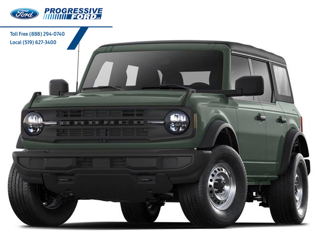 2021 Ford Bronco Outer Banks (Stk: MLA76539) in Wallaceburg - Image 1 of 3