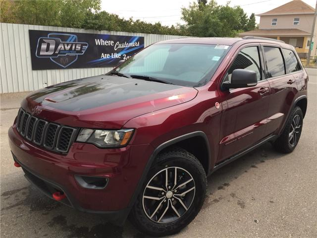 2017 Jeep Grand Cherokee Trailhawk (Stk: 11330) in Fort Macleod - Image 1 of 24