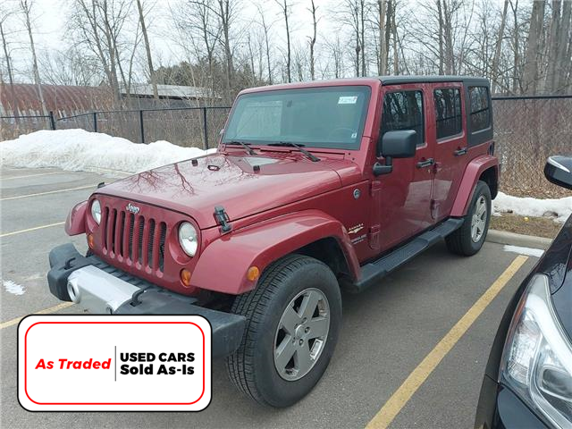 2012 Jeep Wrangler Unlimited Sahara (Stk: M2091A) in Welland - Image 1 of 5