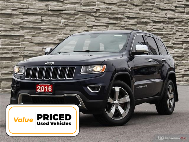 2016 Jeep Grand Cherokee Limited (Stk: L2330A) in Welland - Image 1 of 27