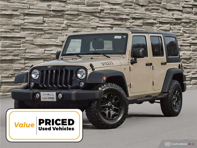 2016 Jeep Wrangler Unlimited Sport (Stk: M2031A) in Welland - Image 1 of 27
