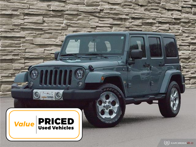 2014 Jeep Wrangler Unlimited Sahara (Stk: P4066A) in Welland - Image 1 of 27