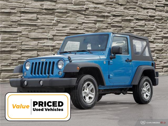 2014 Jeep Wrangler Sport (Stk: M1142A) in Hamilton - Image 1 of 27