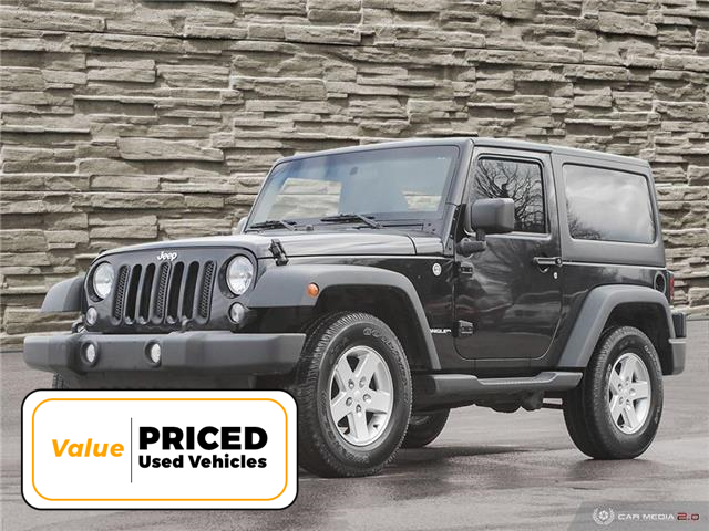 2015 Jeep Wrangler Sport (Stk: M1133A) in Hamilton - Image 1 of 28