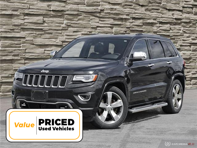 2014 Jeep Grand Cherokee Overland (Stk: T8934A) in Brantford - Image 1 of 27