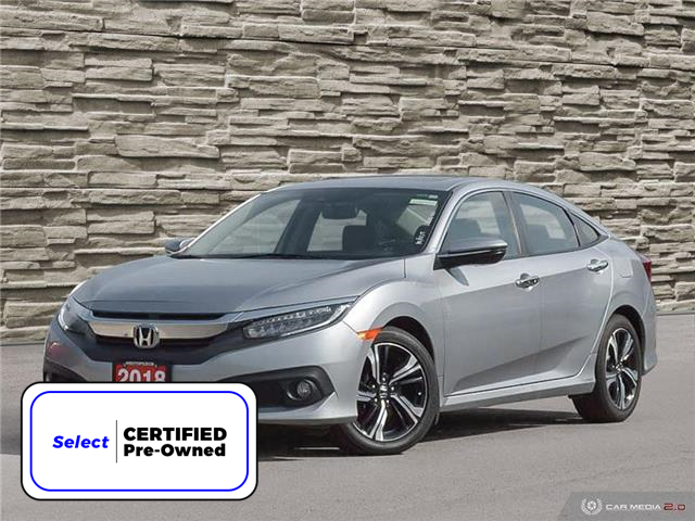 2018 Honda Civic Touring (Stk: L2248A) in Welland - Image 1 of 27