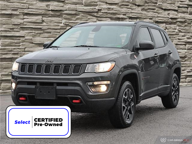2019 Jeep Compass Trailhawk (Stk: M1144A) in Hamilton - Image 1 of 27