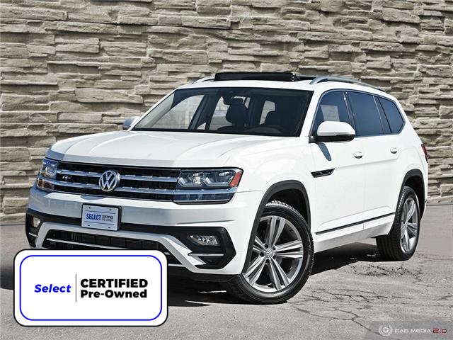 2018 Volkswagen Atlas 3.6 FSI Execline (Stk: J4313A) in Brantford - Image 1 of 27