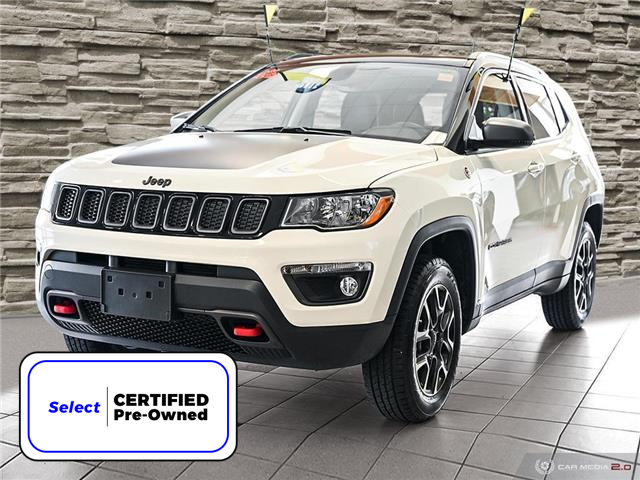 2020 Jeep Compass Trailhawk (Stk: 16001A) in Hamilton - Image 1 of 27