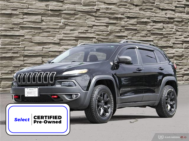 2018 Jeep Cherokee Trailhawk (Stk: M2203A) in Hamilton - Image 1 of 30