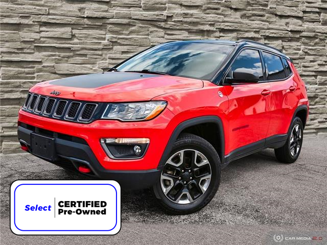 2018 Jeep Compass Trailhawk (Stk: 91363A) in Brantford - Image 1 of 27