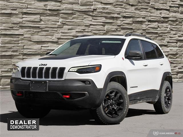 2021 Jeep Cherokee Trailhawk (Stk: J4277) in Brantford - Image 1 of 27