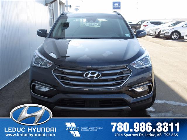 2017 Hyundai Santa Fe Sport 2.0T Ultimate (Stk: 7SF1361) in Leduc - Image 1 of 28