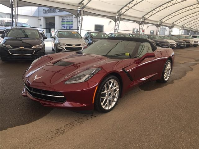 2018 Chevrolet Corvette Stingray (Stk: 156383) in AIRDRIE - Image 1 of 21